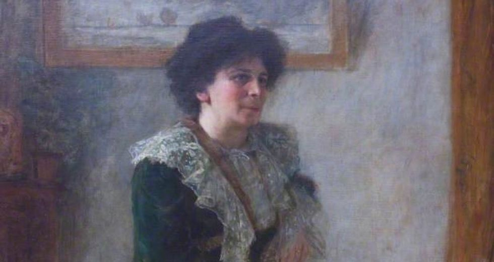 Hertha Marks Ayrton was a total badass. Google just honored her in an awesome way.