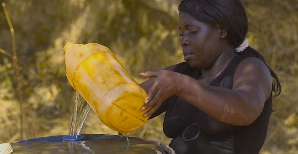 Her name is Gertrude Mamba. Here is her story. Brace yourself.