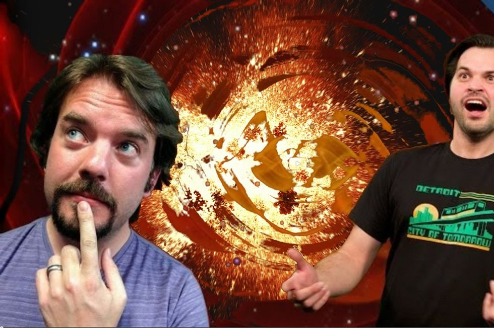 Two Guys Explain Clearly How We Now Know The Big Bang Actually Happened