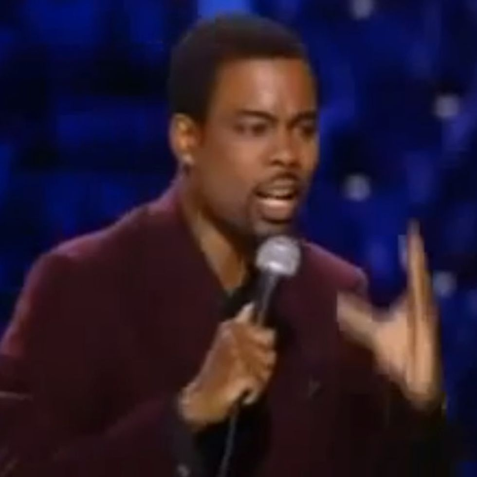 Chris Rock Gives The Best 60-Second Piece Of Advice To Liberals, Conservatives, And Human Beings