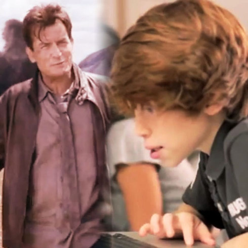 Kids Are Using Charlie Sheen To Learn English. Don't Worry, It's A Good Thing!