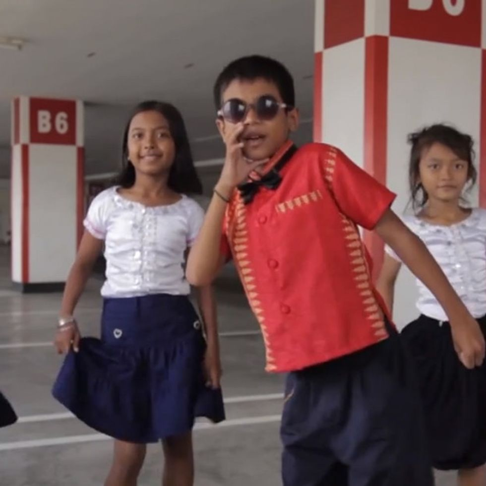 The World's Most Belovedly Annoying Song Gets Remixed By Kids In Cambodia
