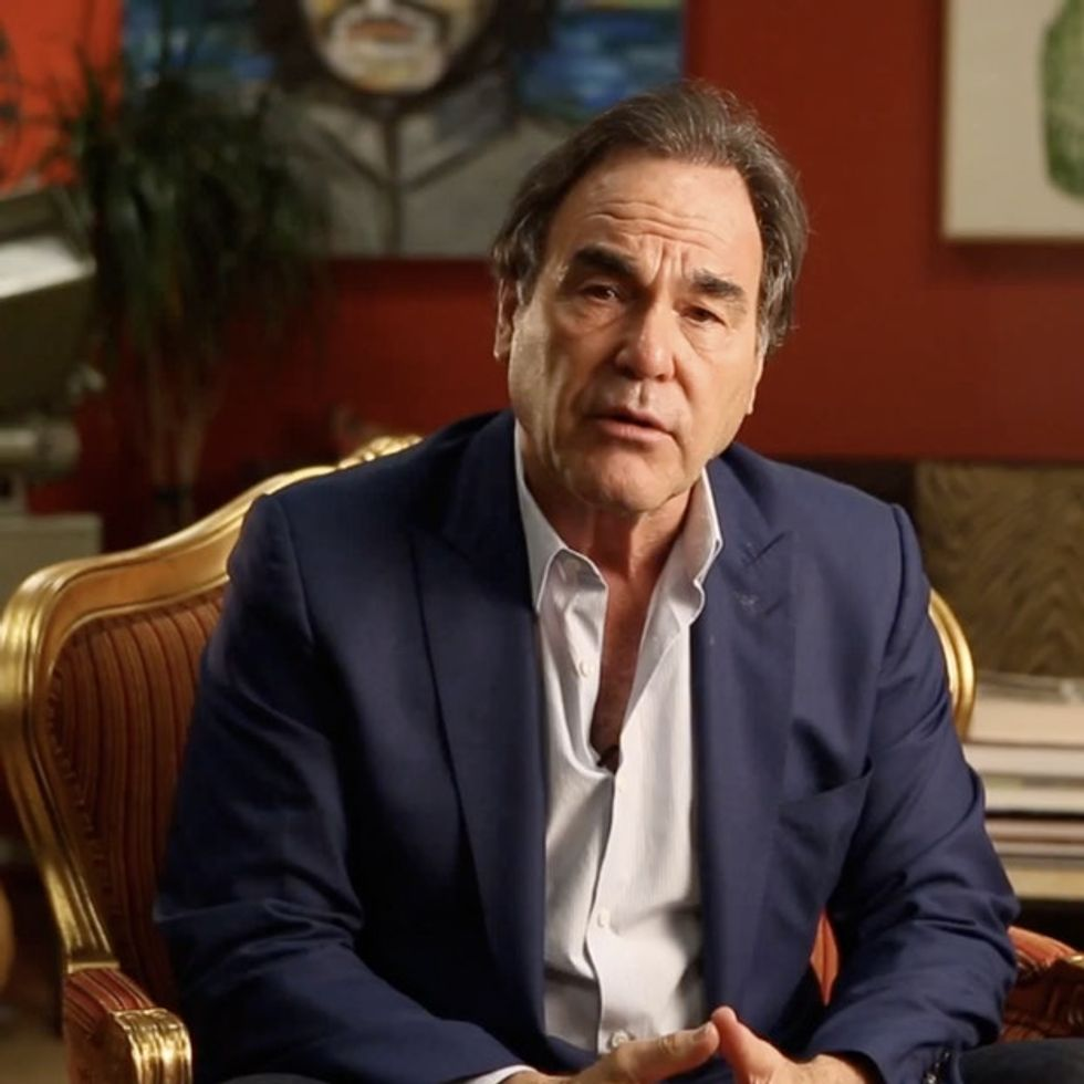 Oliver Stone Has Some Disturbing Questions He'd Like To Ask You