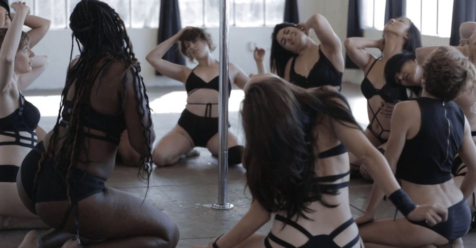 Here's why pole dancing can be empowering for some women.