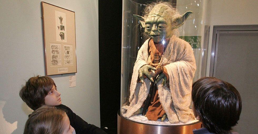 What happens when National Teacher Appreciation Week meets Star Wars Day?
