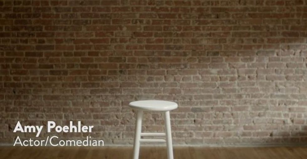 Amy Poehler should be sitting on that stool. Here's why she's not.