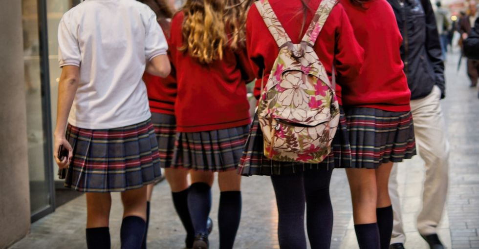 A school insisted the girl students wear skirts. 3 girls fought the code in court — and won.