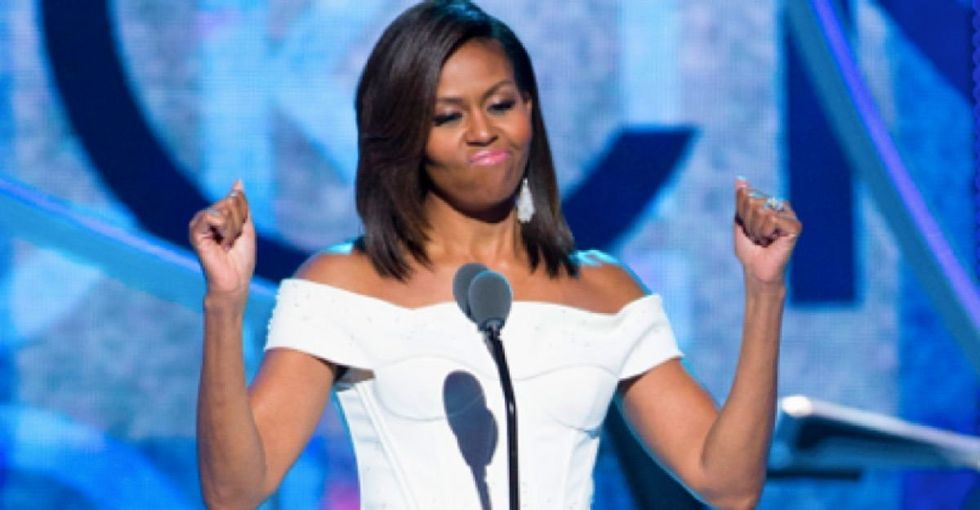 Michelle Obama's instantly classic speech at the 'Black Girls Rock' Awards is a must-watch.