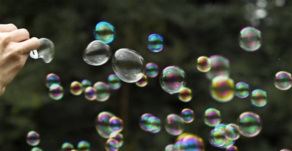 A scientist is working on a revolutionary way to treat cancer, and it involves bubbles.