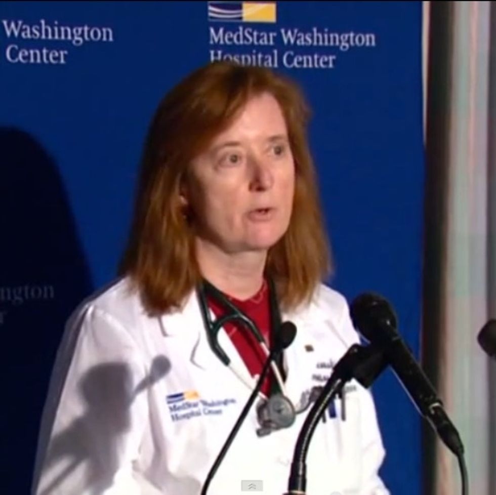 After 12 People Were Murdered In D.C., The Trauma Doctor Said Exactly What Was On Her Mind