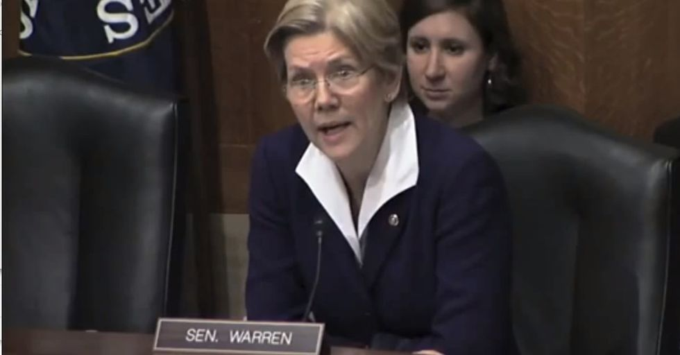 A CEO tried to give a senator a math lesson. So she had to calmly explain how math actually works.