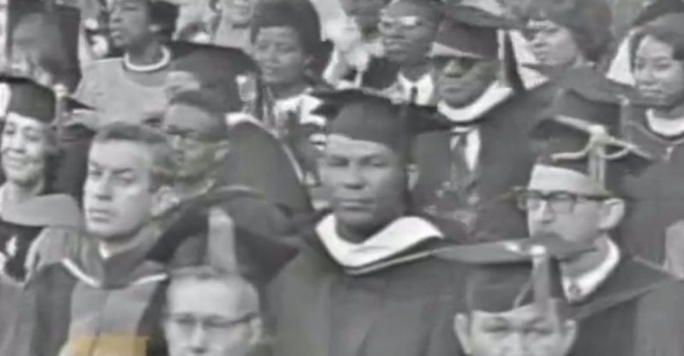 A White Man Gives A Speech About Affirmative Action At A Black University. The Results Are Emotions.
