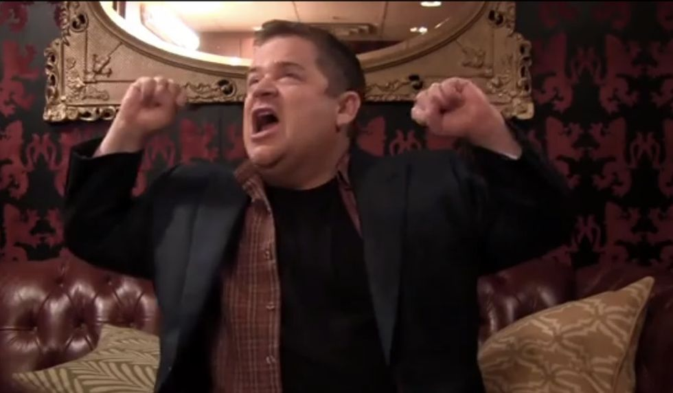 Patton Oswalt's Tale Of Catastrophic Failure Is Hilarious. And Surprisingly Inspiring.