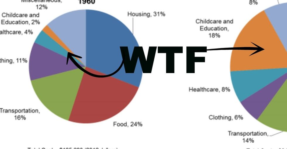 If You're Thinking Of Having Kids Anytime Ever, This Pie Chart Might Make You Stop And Go WTF