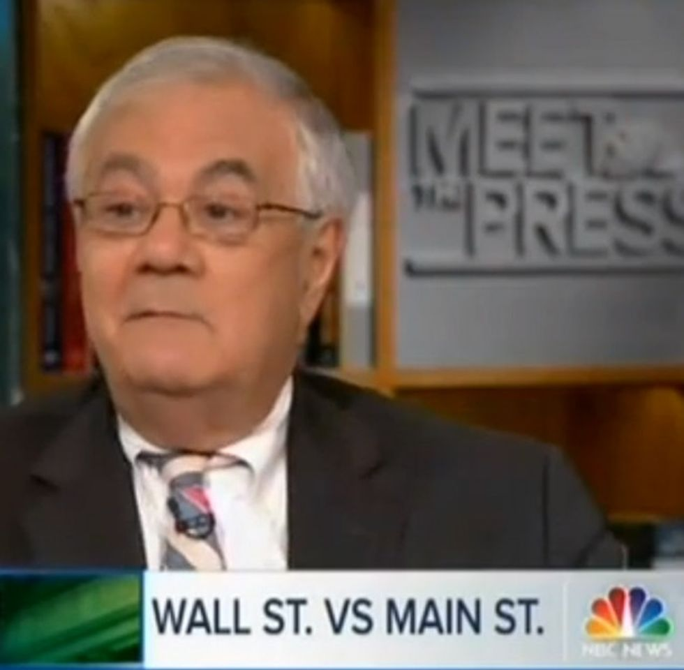 The One Where A Retired Congressman Speaks Common Sense On NBC And There's Dead Silence