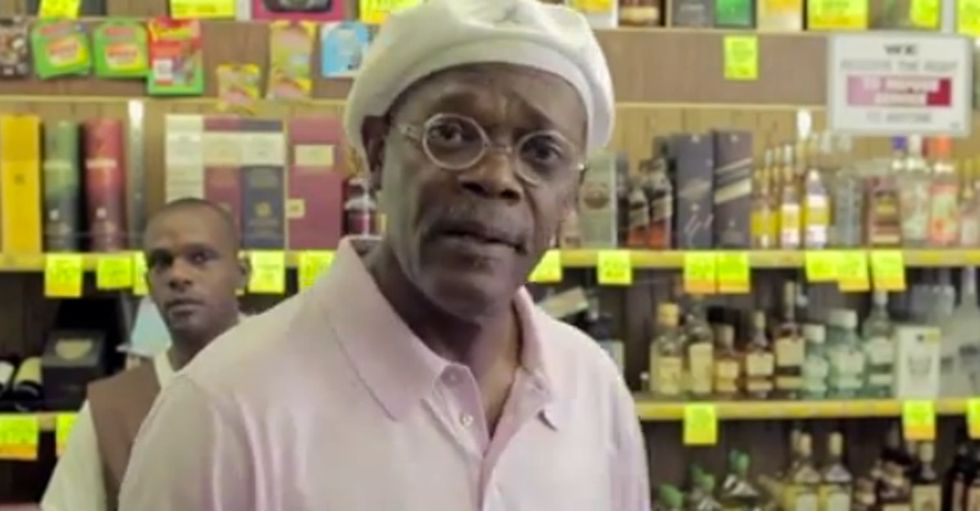 Check Out Why Samuel L. Jackson Just Yelled At A Store Full Of Angry Parents