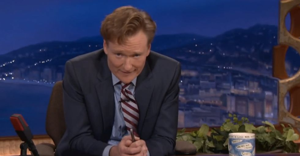 Conan O'Brien Used To Be A Great Boss. Then The Government Shutdown Gave Him An Idea.