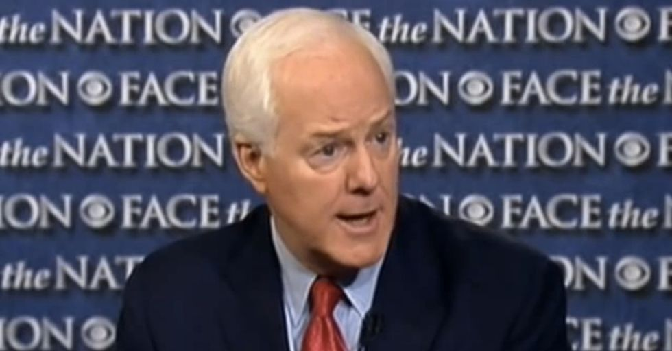 A Reporter Actually Asked A Tough Question About The Shutdown. Then This Senator Made This Face.