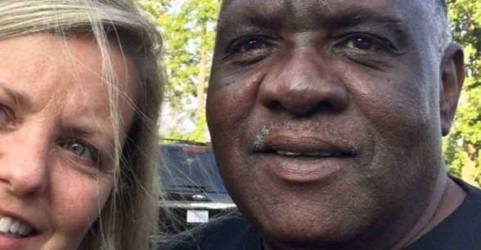 When a woman realized her Uber driver was an Olympic dad, she decided to send him to Rio.