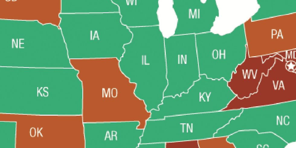 If You Live In One Of These States, The Impact Of Washington's Shenanigans Is Huge