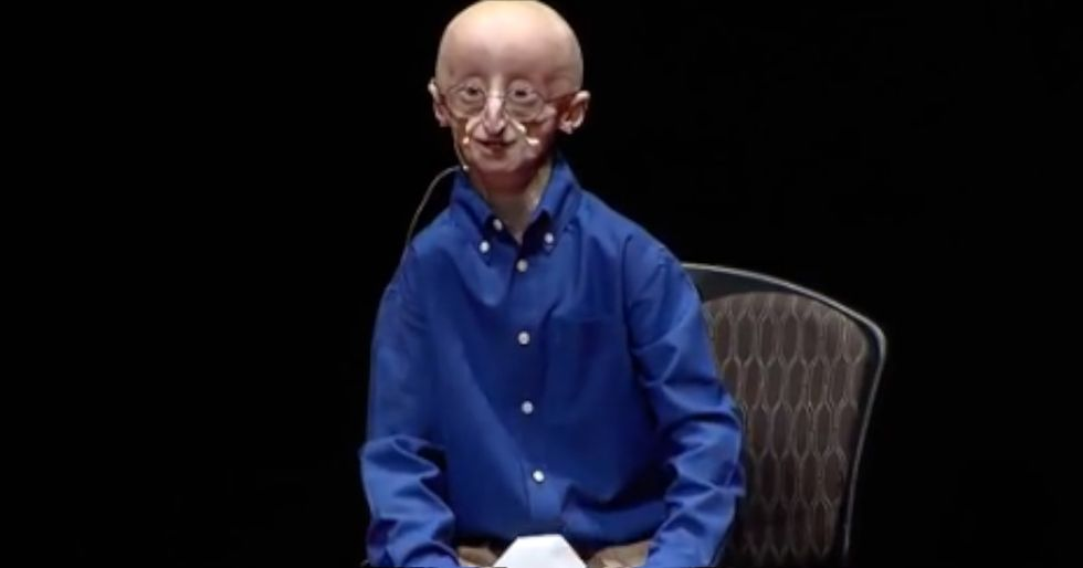 Right Before Dying From A Rare Lifelong Disease, Sam Revealed His Three Secrets To Happiness
