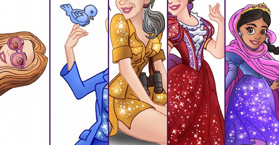 I Respect These Female Heroes So Much More With Tiny Waists And Sparkly Dresses! LOL J/K.
