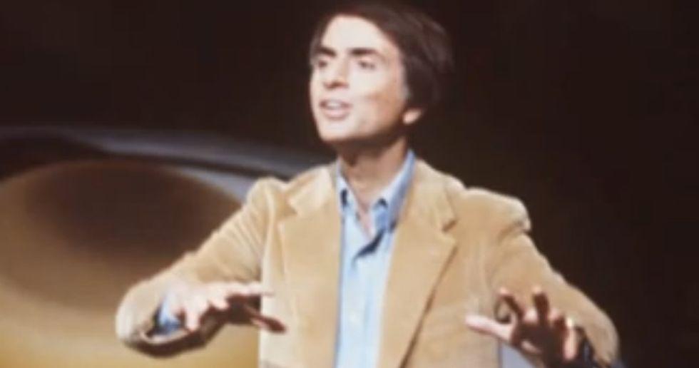 Carl Sagan Tries To Explain Evolution To An Argumentative Guy