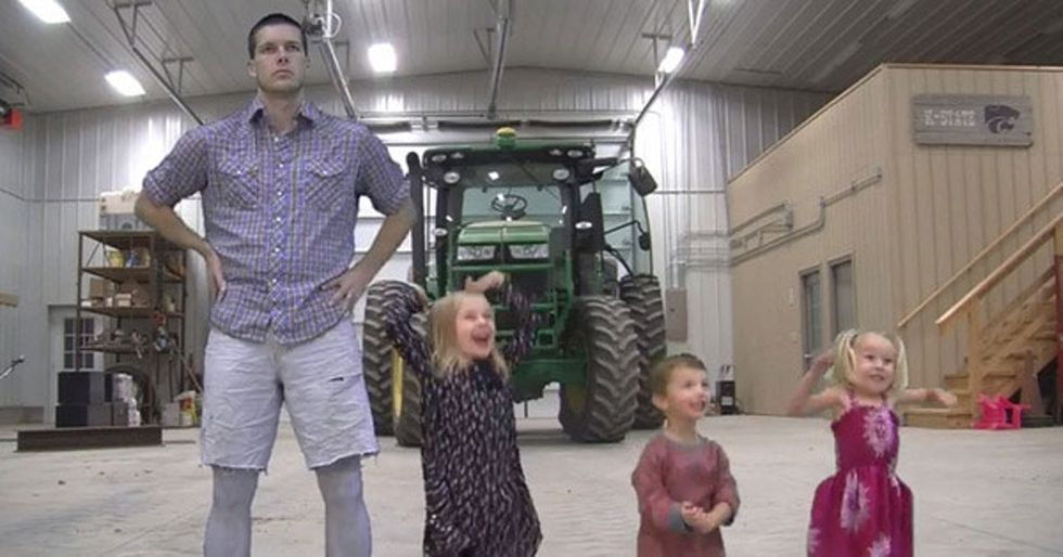The Most Hilarious Parody Video I've Seen Yet: What Does The Farmer Say?
