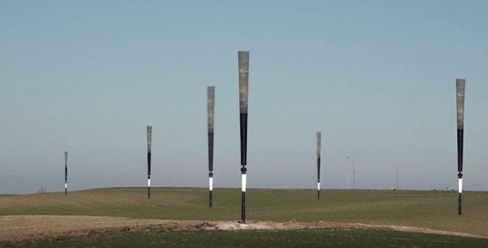 Try not to jiggle while watching these amazing bladeless wind turbines.