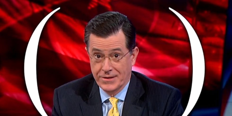 A Famous Columnist Has Trouble Defining Racism. Colbert Eats Him For Dinner.