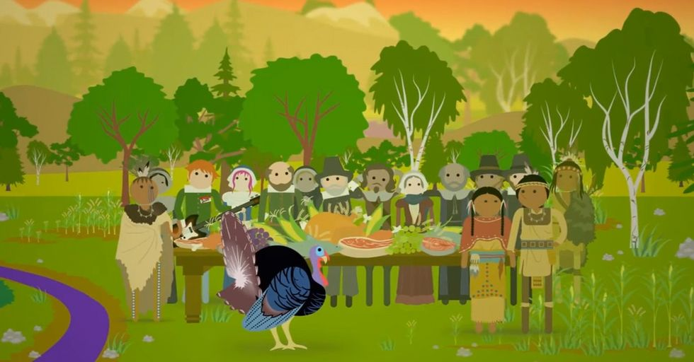 It's Like Visually Delicious Stuffing For Your Brain: An Animated Thanksgiving History Lesson
