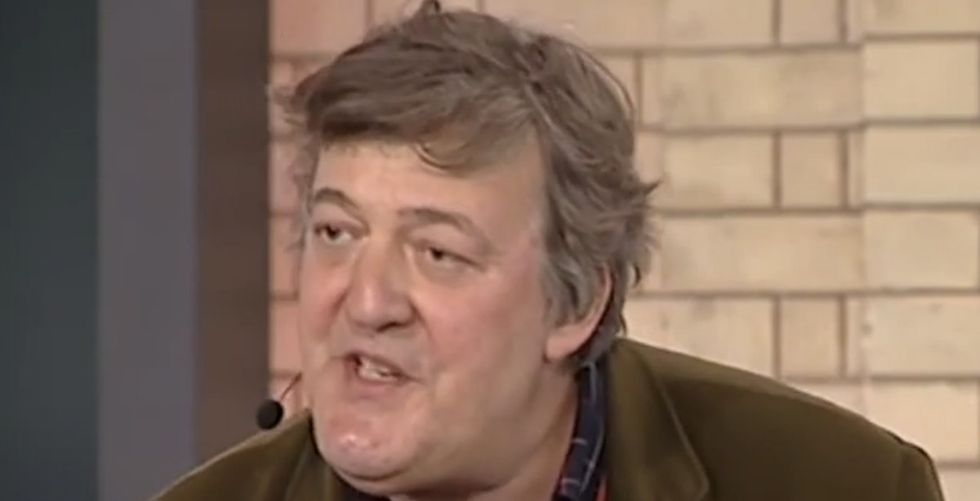 Stephen Fry Somehow Makes Sense Of Racism