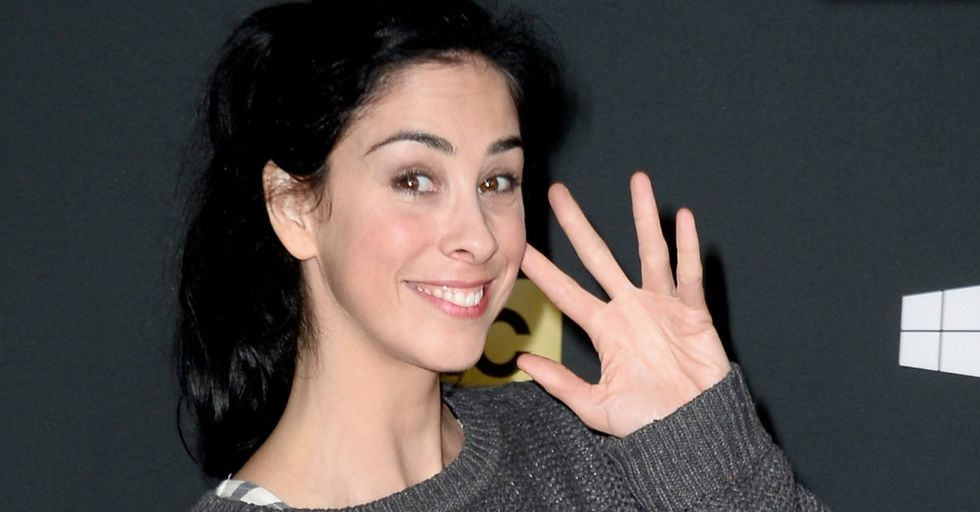 Why Does Sarah Silverman Say Vaginas Really Really Scare People?