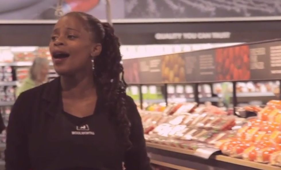 Watch This Grocery Store Erupt In Song For The Man The Entire World Loved
