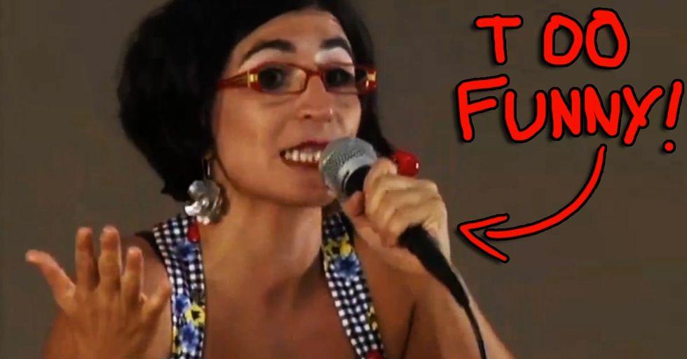 So A Dirty Joke And A Hilarious Muslim Feminist Walk Into A Bar...