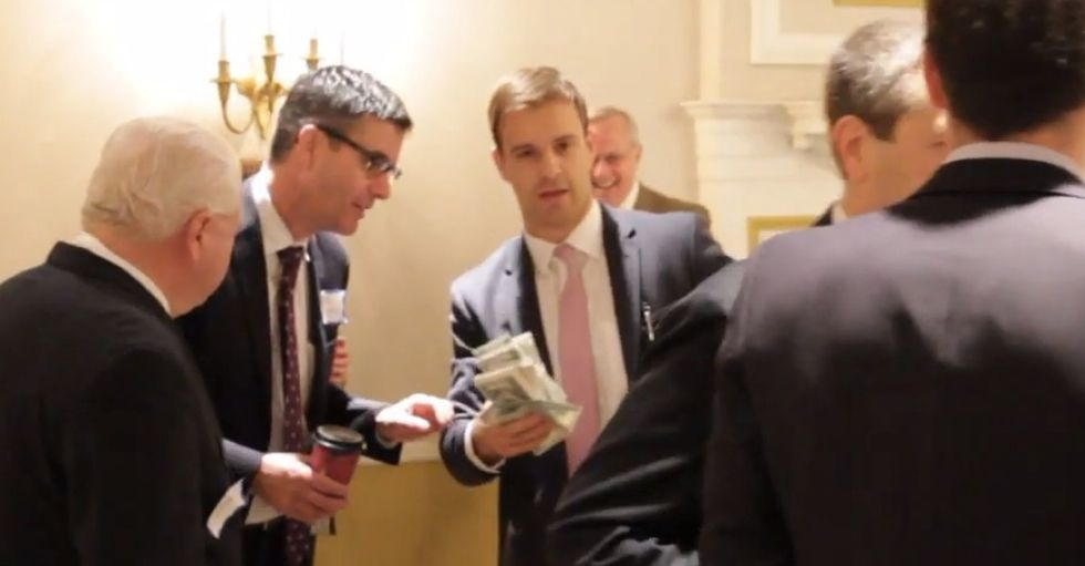 A Dude Got Tired Of A Congressman Taking Legal Bribes, So He Had No Choice. Time For A Prank.