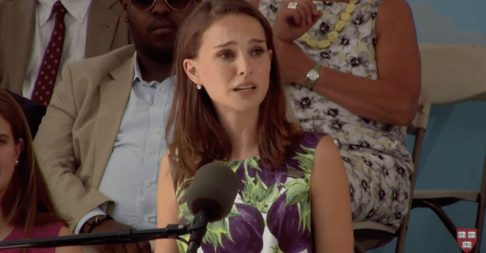 Natalie Portman delivers a powerful speech to Harvard grads about using inexperience as an asset.