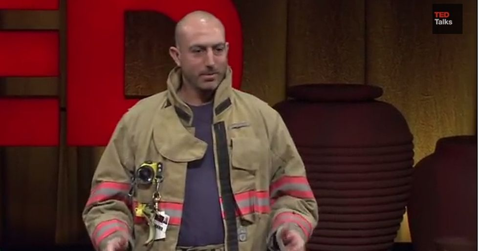 A Firefighter Went To Put Out A Fire, But He Had No Idea He Would Be A Hero Of A Different Kind