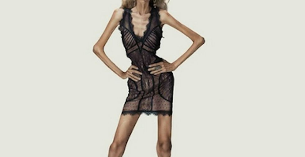 When They Imagine Clothes For Models, Here's What Actual Women Would Have To Look Like