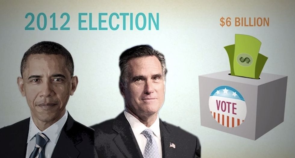 Nearly 1/3 Of All Campaign Dollars in 2013 Came From A Tiny Group Of People. Care To Guess Who?