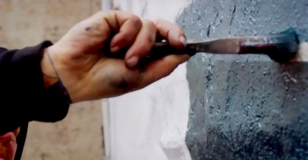 How A Little Paint On The Side Of A New York City Building Can Help Change A Life Forever