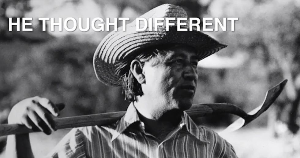 This is Cesar Chavez. If you haven't heard of him, perhaps it's time you did.