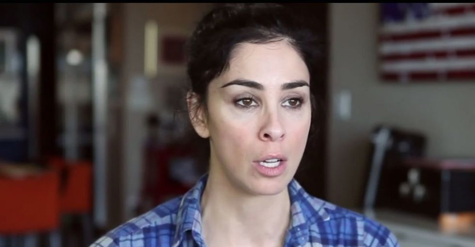 Sarah Silverman just life-coached everyone who's felt undeserving. Such a cool perspective.