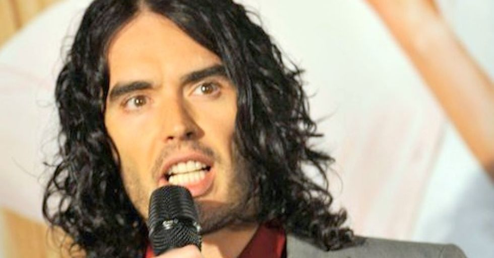 Russell Brand's Brilliant Quote About Inequality In One Easily Shareable Image