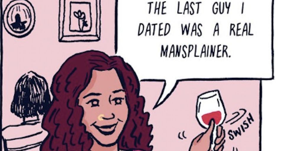 Mansplaining: An awesome comic breaks down the definition — and shares examples.