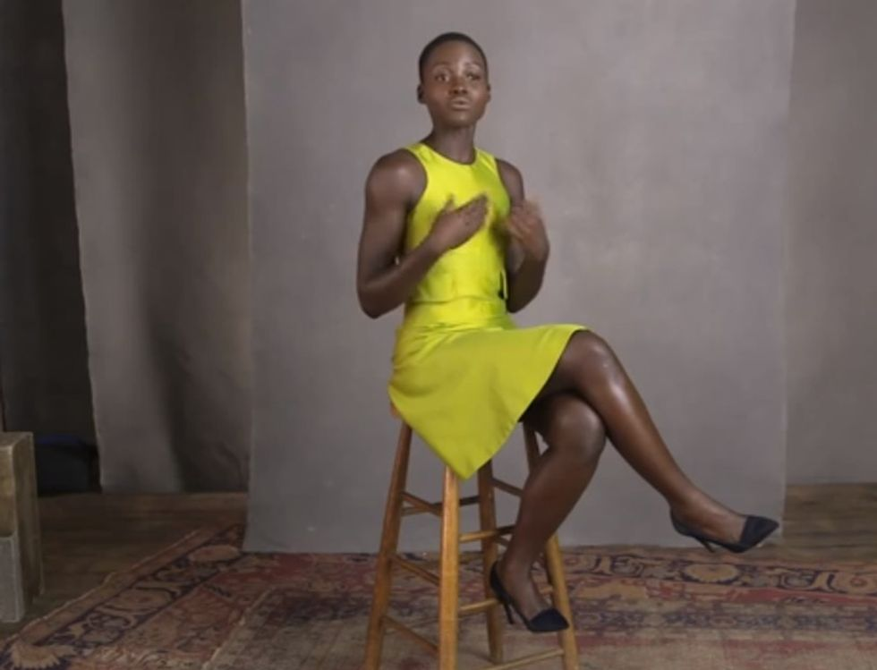 Hear How Lupita Nyong'o Only Considered Herself Black When She Came To America