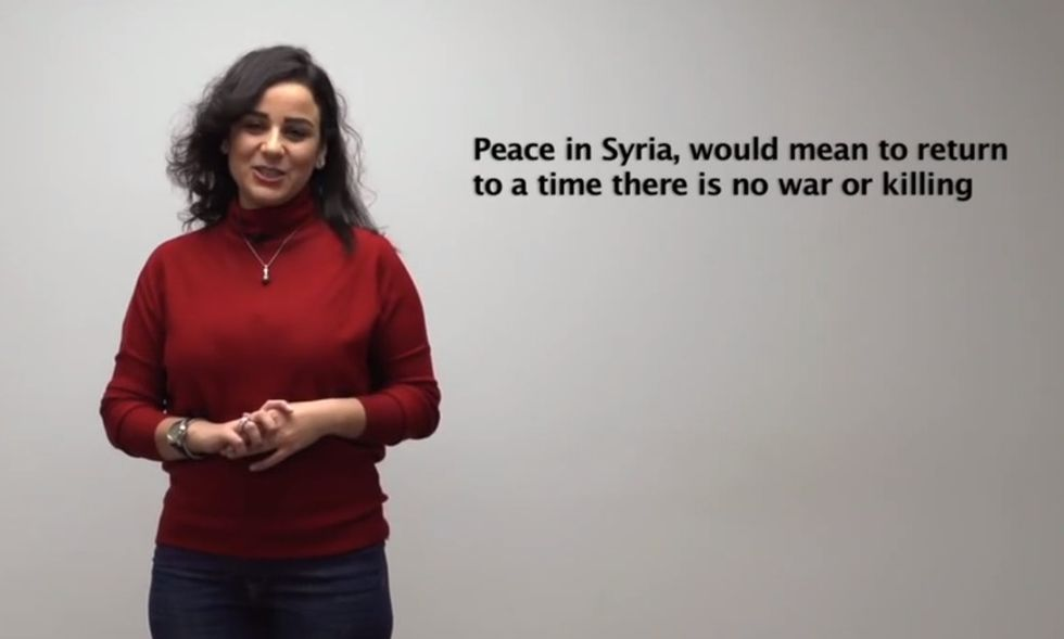 Not A Single Woman Has Been Invited To Join The Syrian Peace Talks. Here They Are Instead.