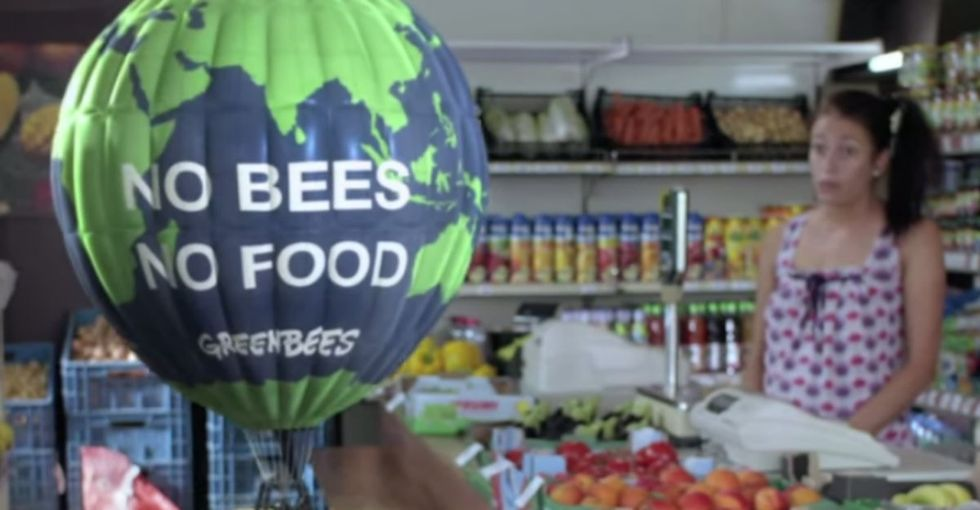 Honeybees Take On The Big Guys In A Very Funny Ad From Greenpeace