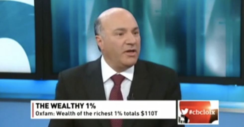 This Guy Needs A Clue: A Member Of The 1% Declares It 'Great' That 3.5 Billion Are In Poverty.