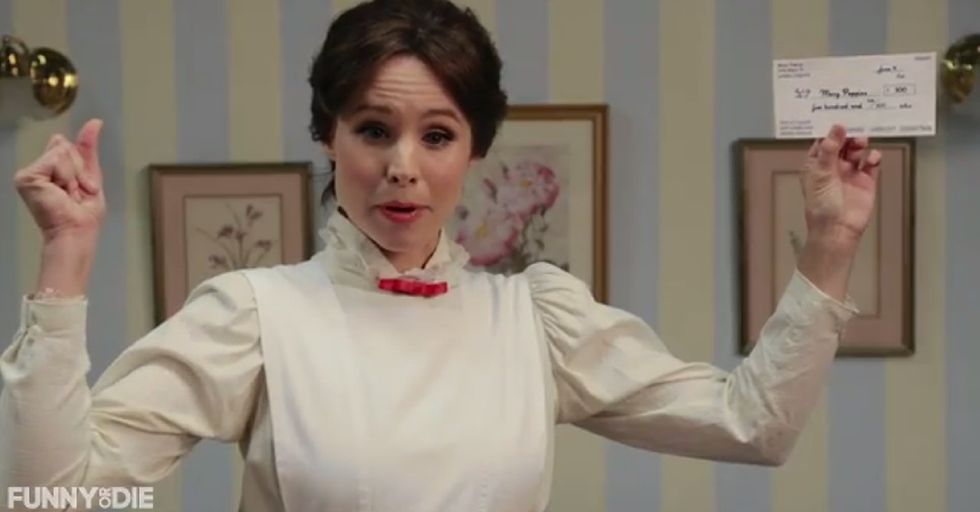 Kristen Bell Does A Mean Mary Poppins Impression And Sings About Her Cheap Jerk Of A Boss